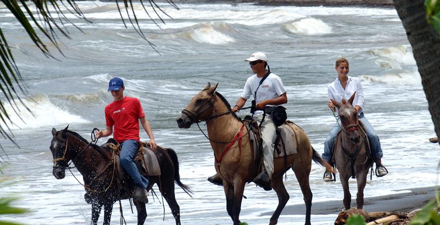 Riding, Credit Punta Islita