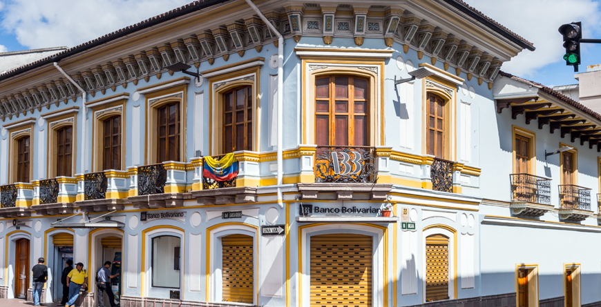 Quito, Architecture of Historic Center, Credit Anton Ivanov, Shutterstock.com