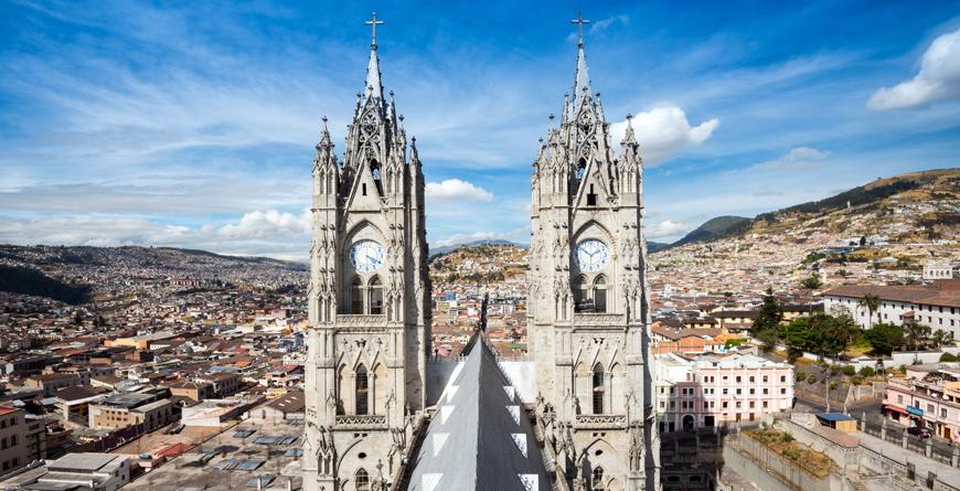 Basilica del Voto Nacional, Credit Noradoa, Shutterstock.com