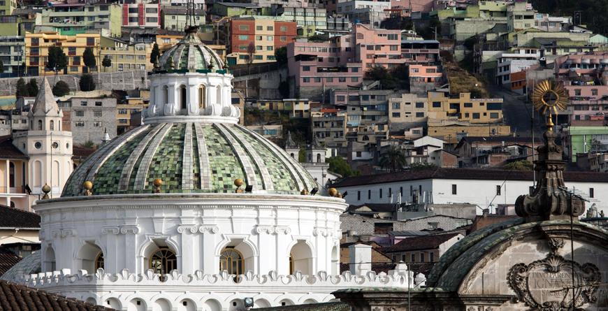 Quito Metropolitan Cathederal, Credit Vladmir Korostyshevskiy, Shutterstock.com