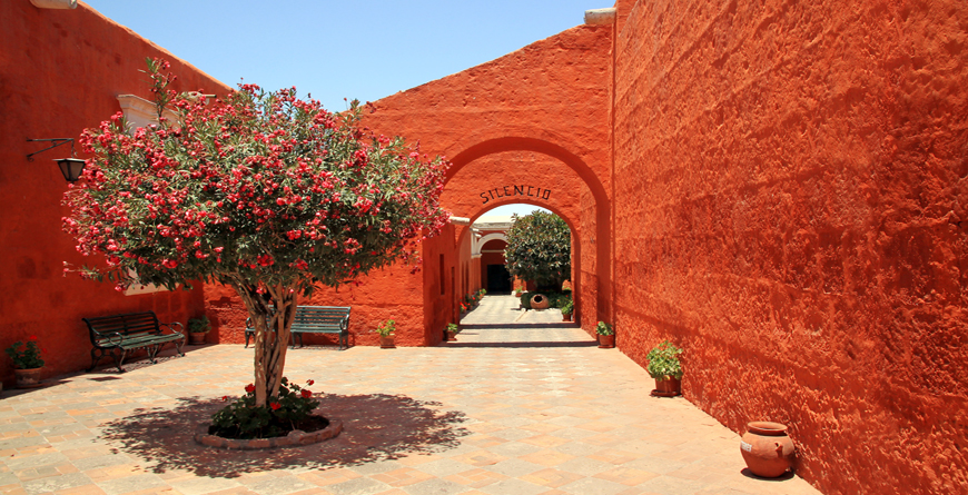 Monastery of Saint Catherine Arequipa, Credit Shutterstock