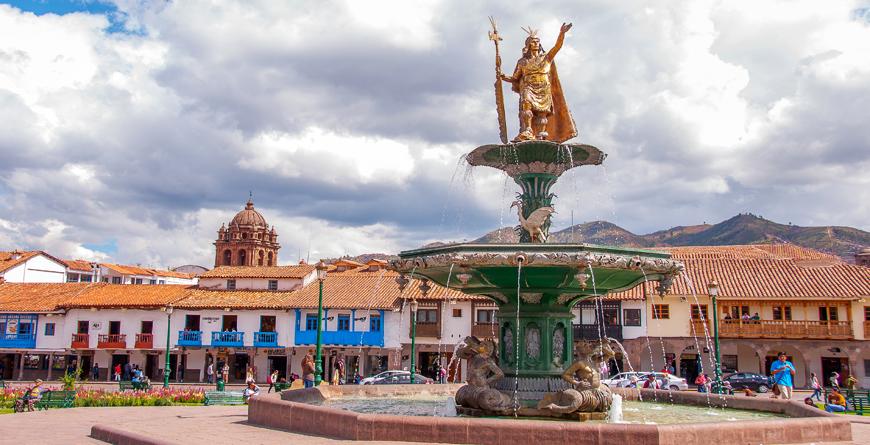 Plazade Armas, Credit Shutterstock