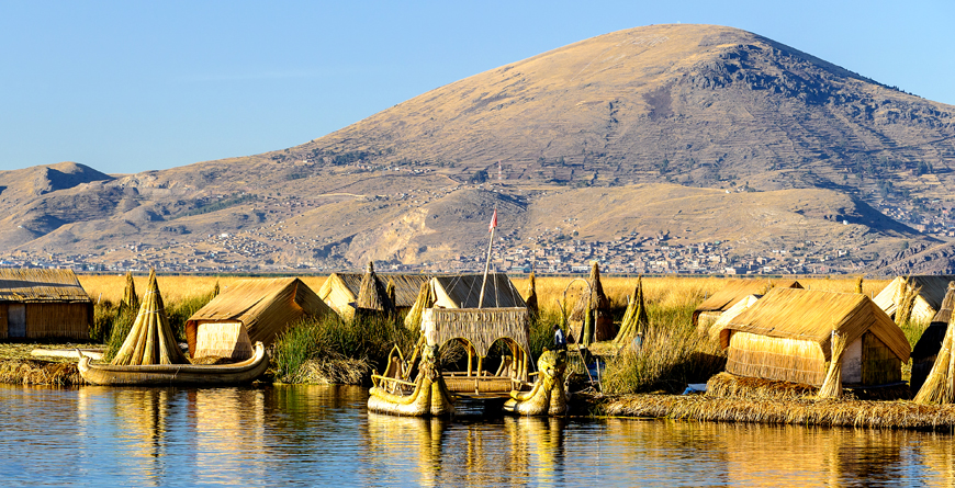 Uros Islands and Boats, Credit Anton Ivanov, Shutterstock