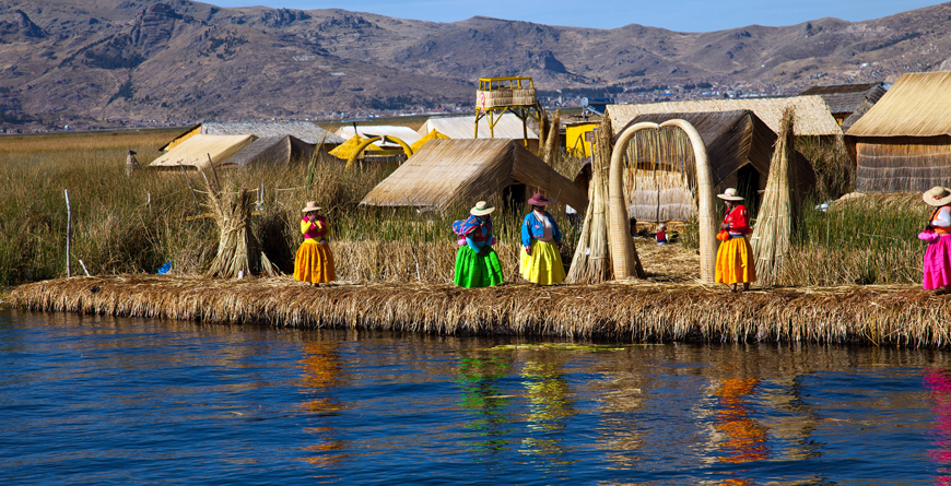 Uros Islands, Credit Gail Johnson, Shutterstock