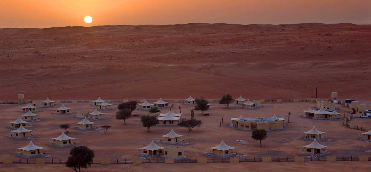 Deserts Night Camp