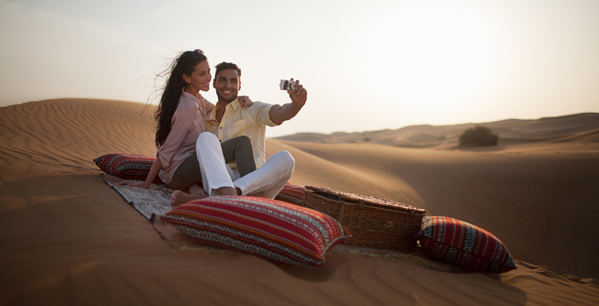 Desert Picnic, Courtesy Waldorf Astoria Ras al Khaimah