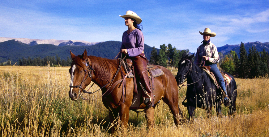 Riding, Echo Valley Ranch