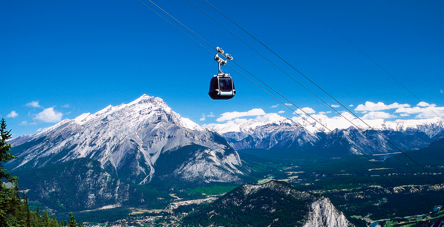 Banff Sulphur Mountain, Gondola, Credti Banff Lake Louise Tourism Brewster Inc.