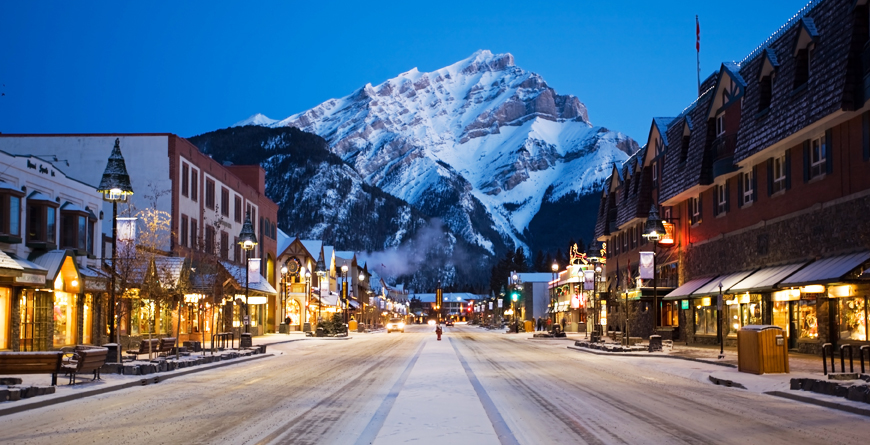 Banff Townsite, Credit Brand Canada Library