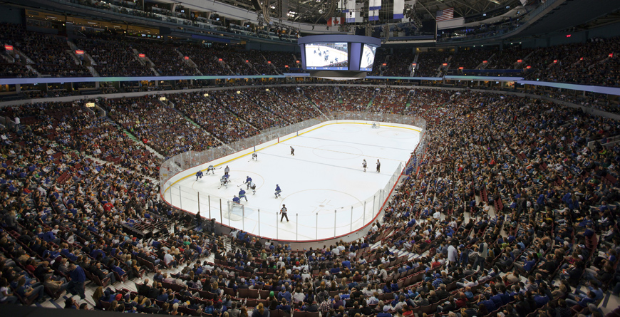 Canucks NHL Hockey Game, Credit Canadian Tourism Commission