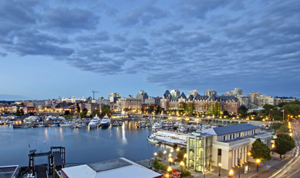 Inner Harbour, Credit Canadian Tourism Commission