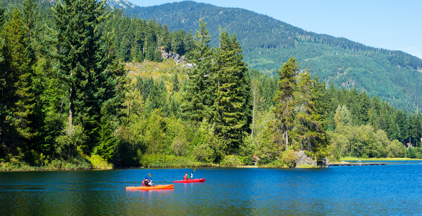 Canoe Lake, Credit Tourism Whistler, Mike Crane