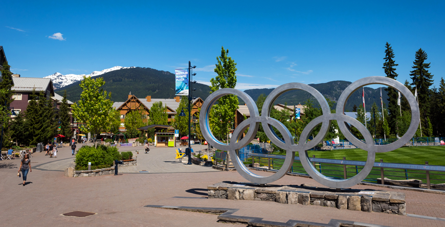 Olympic Park, Credit Tourism Whistler, Mike Crane