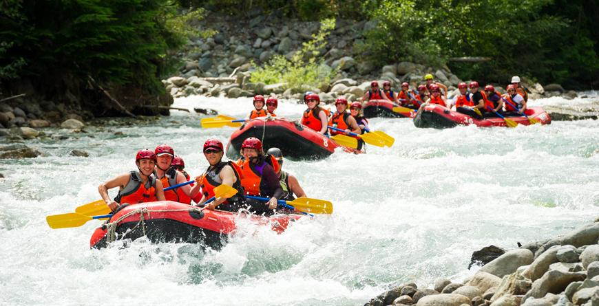 Rafting, Credit Tourism Whistler, Mike Crane
