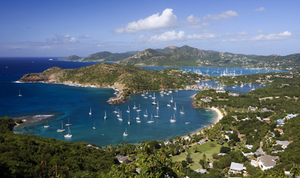 Falmouth Harbour and Dockyard,  Credit Antigua and Barbuda Tourism Authority