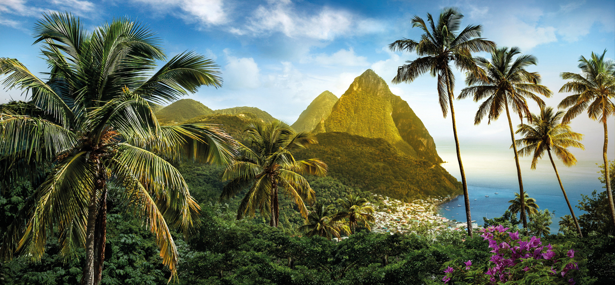The Pitons, Credit St.Lucia Tourist Board