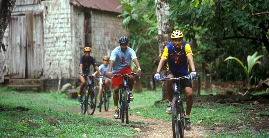 Mountain Biking, Credit St.Lucia Tourist Board