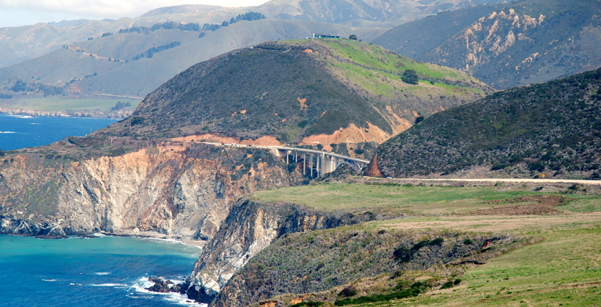 Big Sur Bridge, Credit Visit California