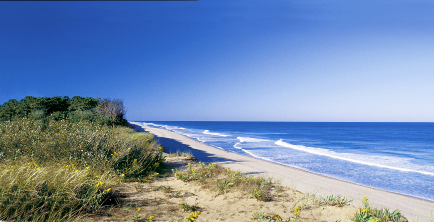 New England, Beach
