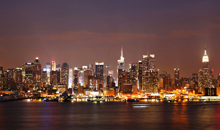 Manhattan Skyline, Credit Tom Perry