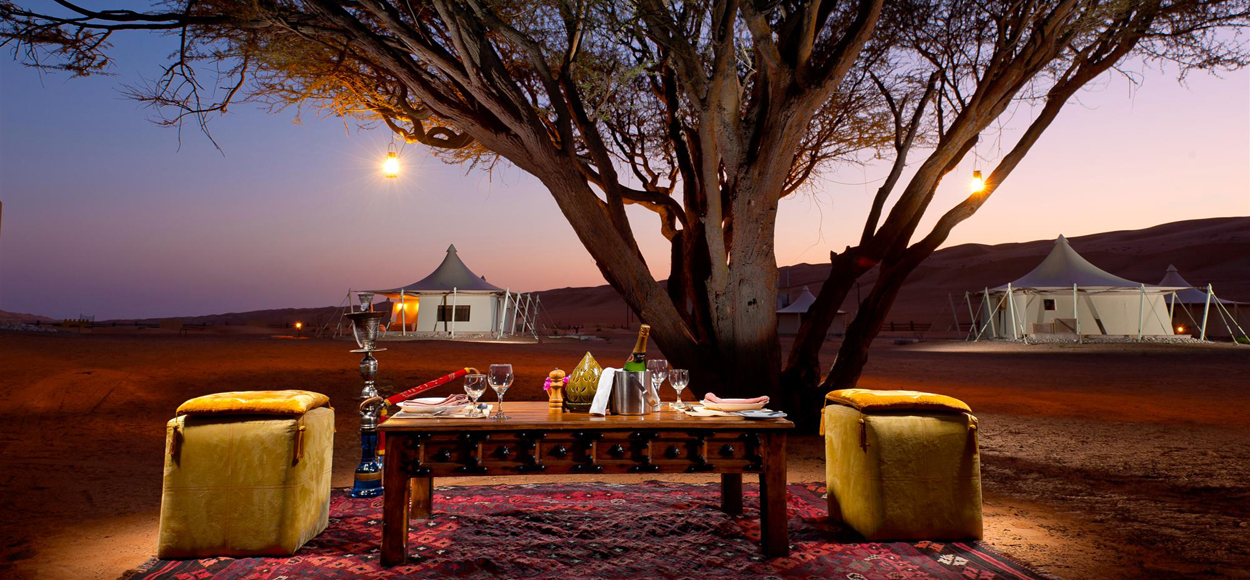 Desert Nights Camp Al Wasil Oman, Private Dining