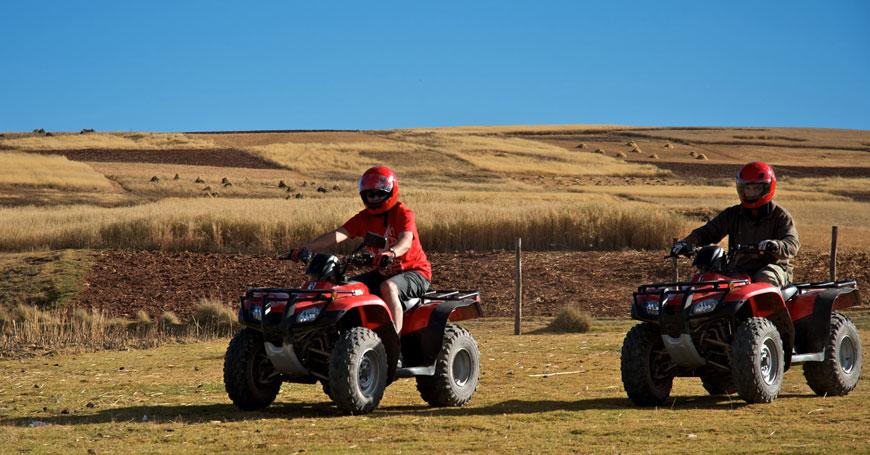 ATV at Sol y Luna