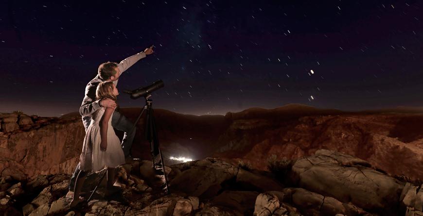 Stargazing at the Anantara Al Jabal