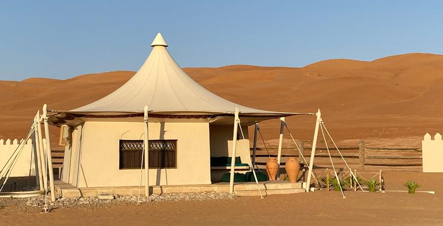 Desert Night's Camp