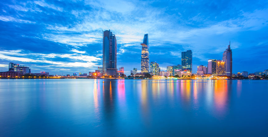 Ho Chi Minh City Courtesy Shutterstock