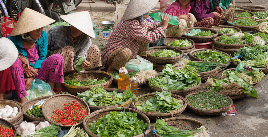 Market Traders Hoi An Courtesy Shutterstock