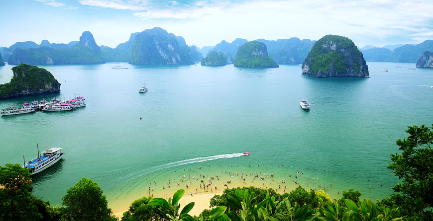 Halong Bay Courtesy Shutterstock