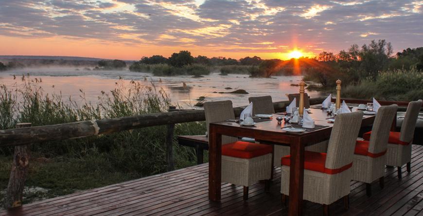 Sunset at Zambezi Sands C Zambezi Sands
