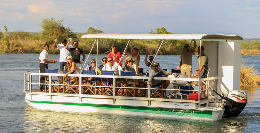 Cruising the Zambezi C Imvelo