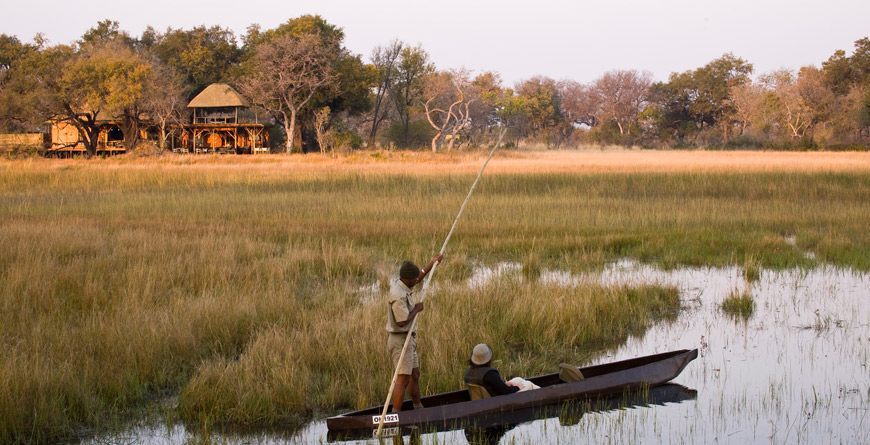 &Beyond Udum Mokoru and Lodge, Botswana, courtesy of &Beyond