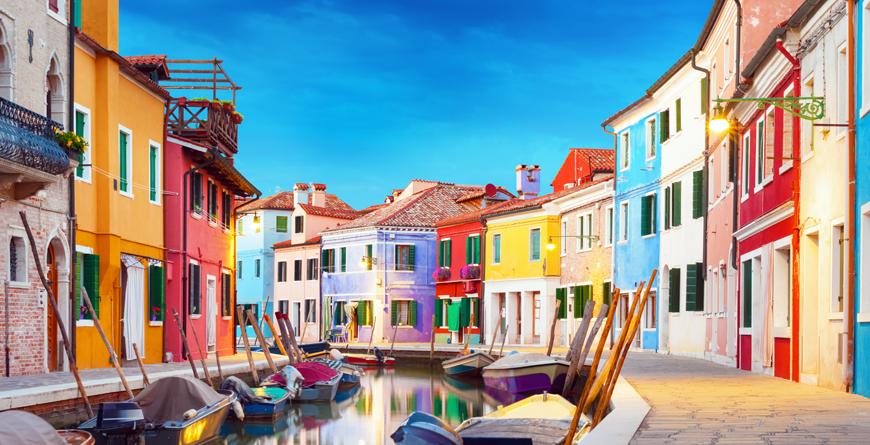 Burano Venice, Credit Waku, Shutterstock