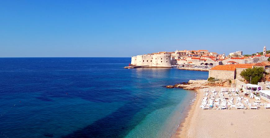 Dubrovnik Beaches, Credit Pawel Kazmierczak, Shutterstock