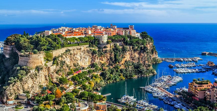 Principaute of Monaco, Monte Carlo, Credit Shutterstock