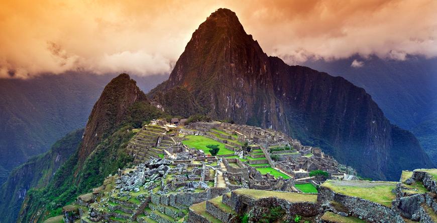 Machu Picchu, Courtesy Shutterstock